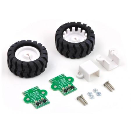 Pololu 42x19mm Wheel and Encoder Set