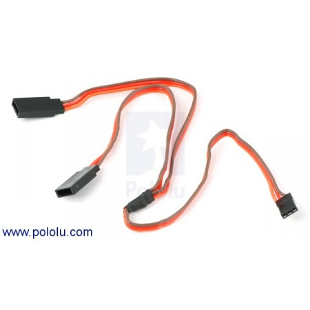 Servo Y Splitter Cable 12