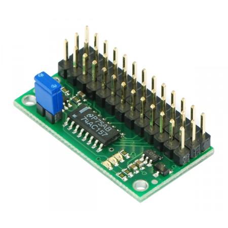 RC Servo Multiplexer 4 Channel rcm01a (asse