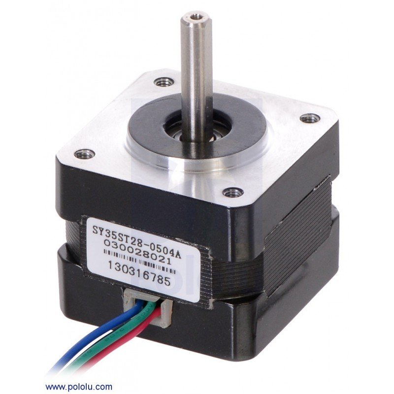 Stepper Motor Bipolar 200 Steps Rev 35 28mm 10 0 5 A